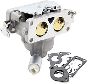796227 Carburetor Carb Replacement with Gasket Kit for Briggs & Stratton V-Twin Models 407777 40N877 40R877 445677 445877 44L777 44M777 44P777 44R677# 796227