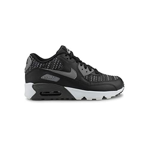 uk availability 959ba 9dbdc Nike Air MAX 90 Mesh Se (GS), Zapatillas para Hombre, (Black Cool Anthracite Wolf  Grey 001), 39 EU  Amazon.es  Zapatos y complementos