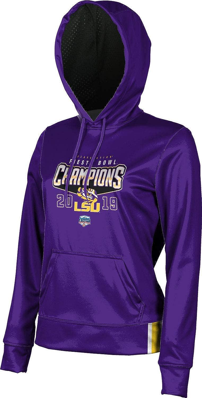 Fiesta Bowl Champions 2019 Louisiana State University Girls Pullover Hoodie School Spirit Sweatshirt Solid