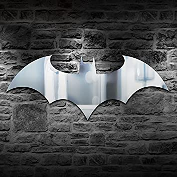 Paladone Batman Logo Mirror Measuring 70 cm 27.5 in x 33 cm 13 in