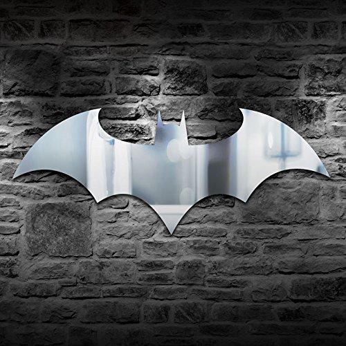 Paladone Batman Logo Mirror Measuring 70 cm (27.5 in) x 33 cm (13 in)