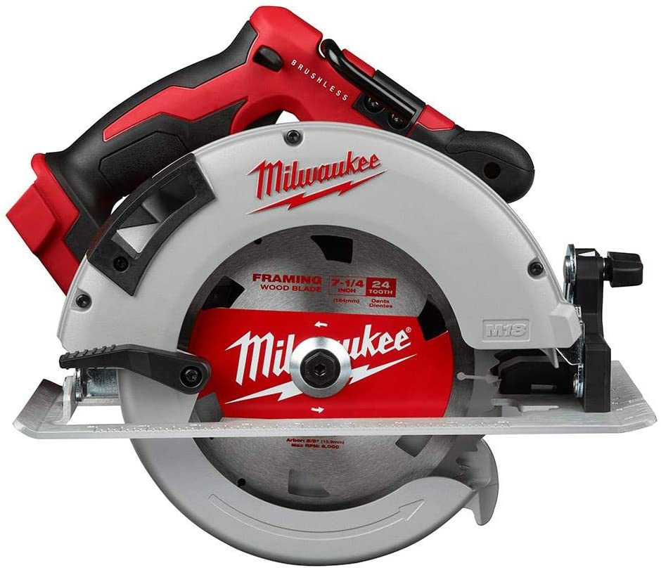 "Milwaukee M18 Brushless 7-1/4"" Circular Saw"