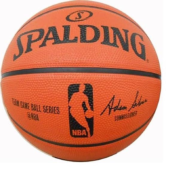 Spalding NBA - Balón de goma baloncesto juego de baloncesto pelota ...