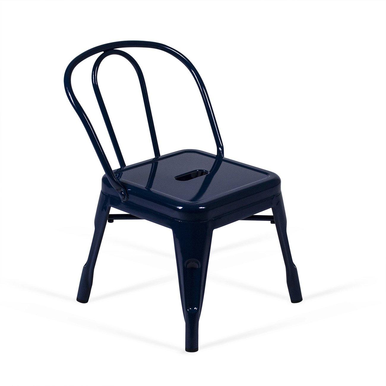 Aeon Furniture Clarise Children's Chair in Navy (Set of 2)