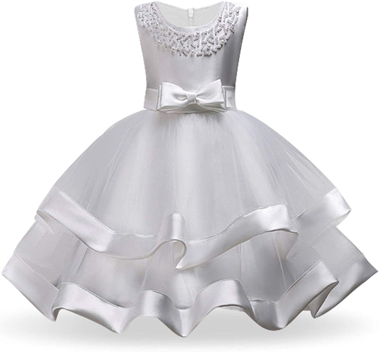 Amazon.com: Perilla fire Girls Dress Elegant Princess Dress Kids