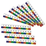 Learning Resources Transparent Inchworm Rulers