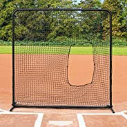 Fortress Softball Pitching Screen   Practice Pitching Safely with The Fortress Softball Protective Screen [Net