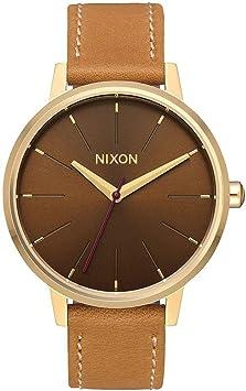 NIXON Kensington Leather -Fall 2017- Light Gold/Manuka/Saddle