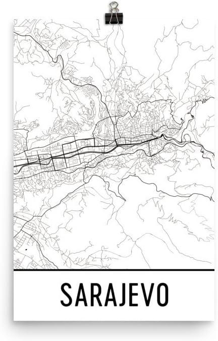 Mapas Detallados De Sarajevo Para Descargar Gratis E Imprimir