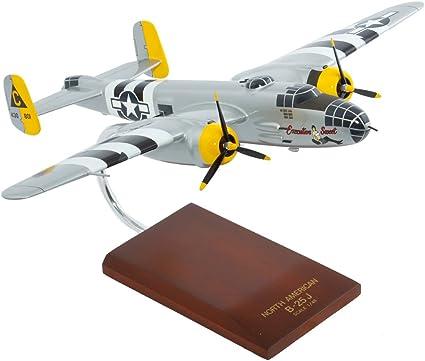 Mastercraft Collection MCB25ESW B-25J Mitchell Executive Sweet Wood Model Plane