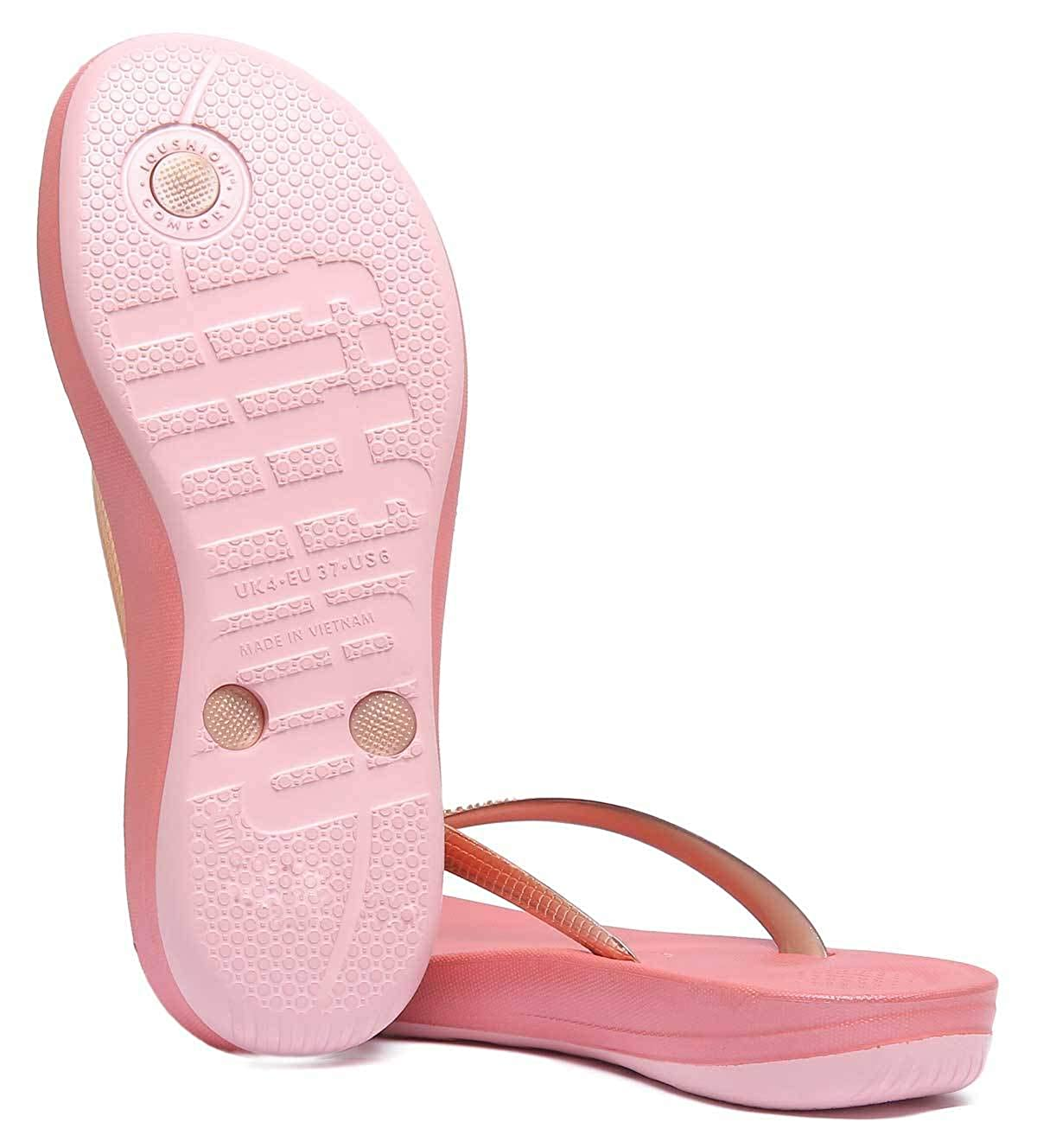 8ce4c799dd9c Fit Flop Women s Iqushion Ergonomic Flip Flops Mirror  Buy Online at Low  Prices in India - Amazon.in