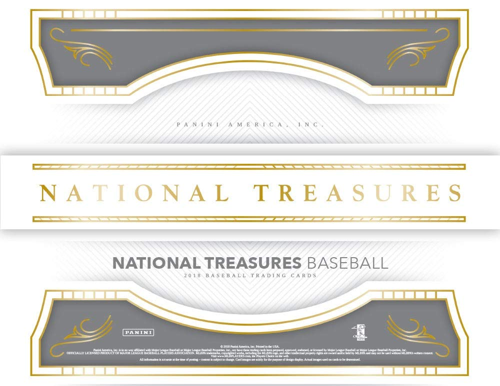 Amazoncom 2018 Panini National Treasures Baseball Hobby Box