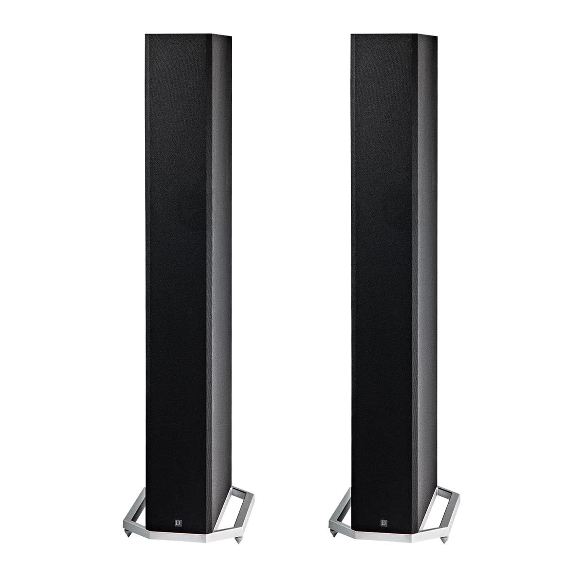 Definitive Technology BP9060 High Power Bipolar Tower Speaker with Integrated 10'' Subwoofer - Pair (Black)