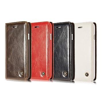 XULINGKE Funda para telefono movil Estuche de Cuero iPhone 5 5S SE ...