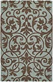 Kaleen Rugs Carriage Collection 6101-56 Spa Hand Tufted 2' x 3' Rug