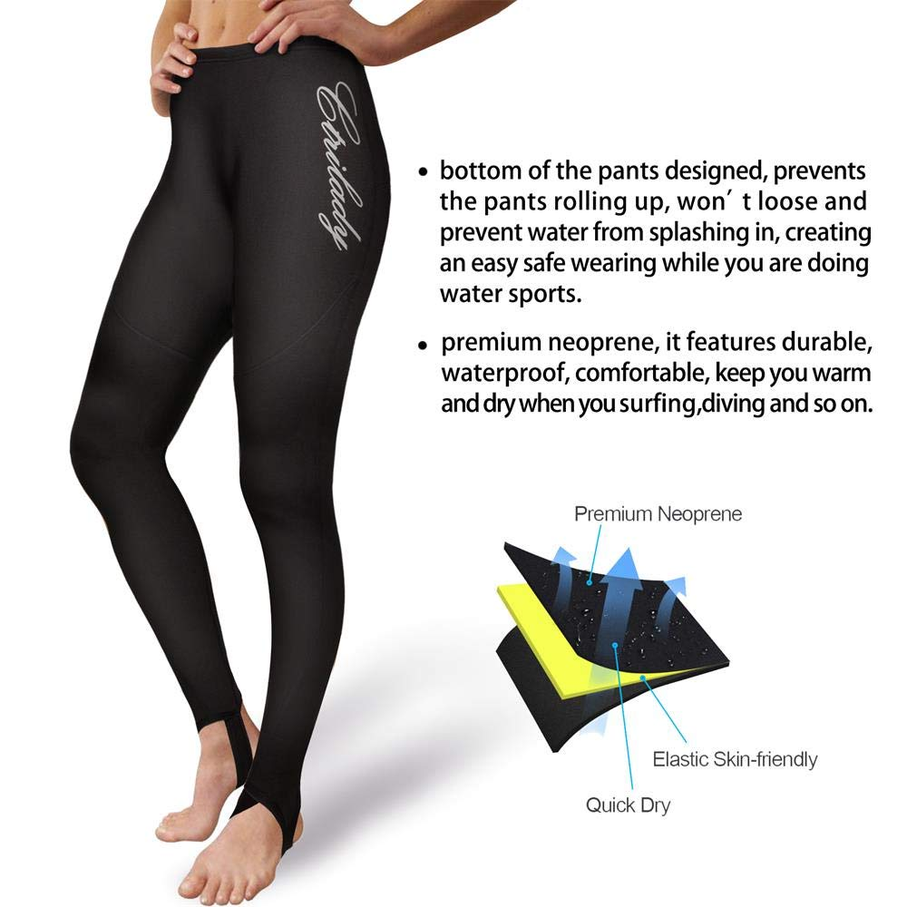 DIVE    SAIL Womens Wetsuit Pants 1.5mm Neoprene Diving Snorkeling Scuba  Surf Canoe Pants 8298781cb