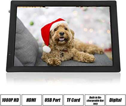 10 Portable HDMI Small TV Atsc Digital TV with USB Port /& TF Card Slot Support 1080P for Home Or Outdoor Camping Car with 12V Car Charger