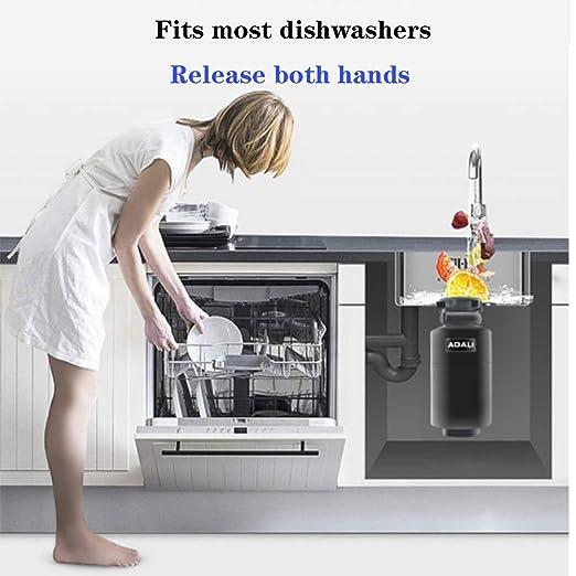 Desechador de residuos de alimentos para el hogar, acero ...