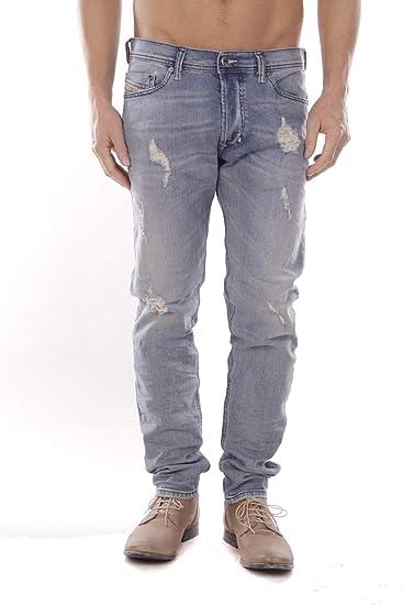 81116c8f Diesel Mens Tepphar R25H8 Jeans (33W / 32L, Blue): Amazon.co.uk: Clothing