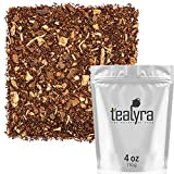 Tealyra – Rooibos Coconut Vanilla Chai – Ginger and Cinnamon with Red Bush Rooibos Herbal Loose Leaf Tea – Antioxidants Rich – Caffeine-Free – 110g (4-ounce) For Sale