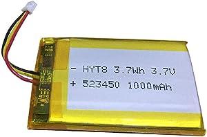 Batería 523450 de 3,7 V 1000 mAh para Corsair Void Pro Wireless Auricular de repuesto, compatible con Corsair Void Pro RGB Wireless Gaming Headset - Dolby 7.1 Surround Sound y más
