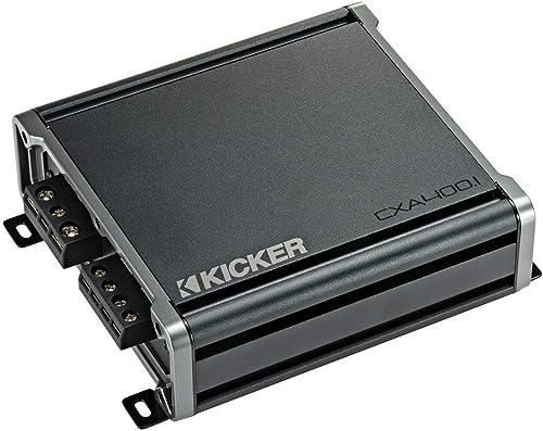 KICKER CX400.1 400 Watt Class D Mono Amplifier for Car Audio Speakers