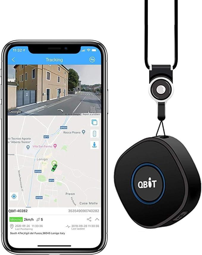 Mini Localizador GPS con Aplicación Gratuita para Android iOS/Rastreo GPS en Tiempo Real/Geo-Cerca/Alarmas SOS/Conversación bidireccional, Portátil GPS Tracker para Niños Adultos Mayores: Amazon.es: Electrónica