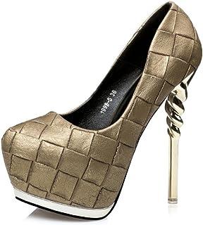 Kitzen Sangle de Cheville pour Femme Stiletto Heel Platform Pompe de Soirée