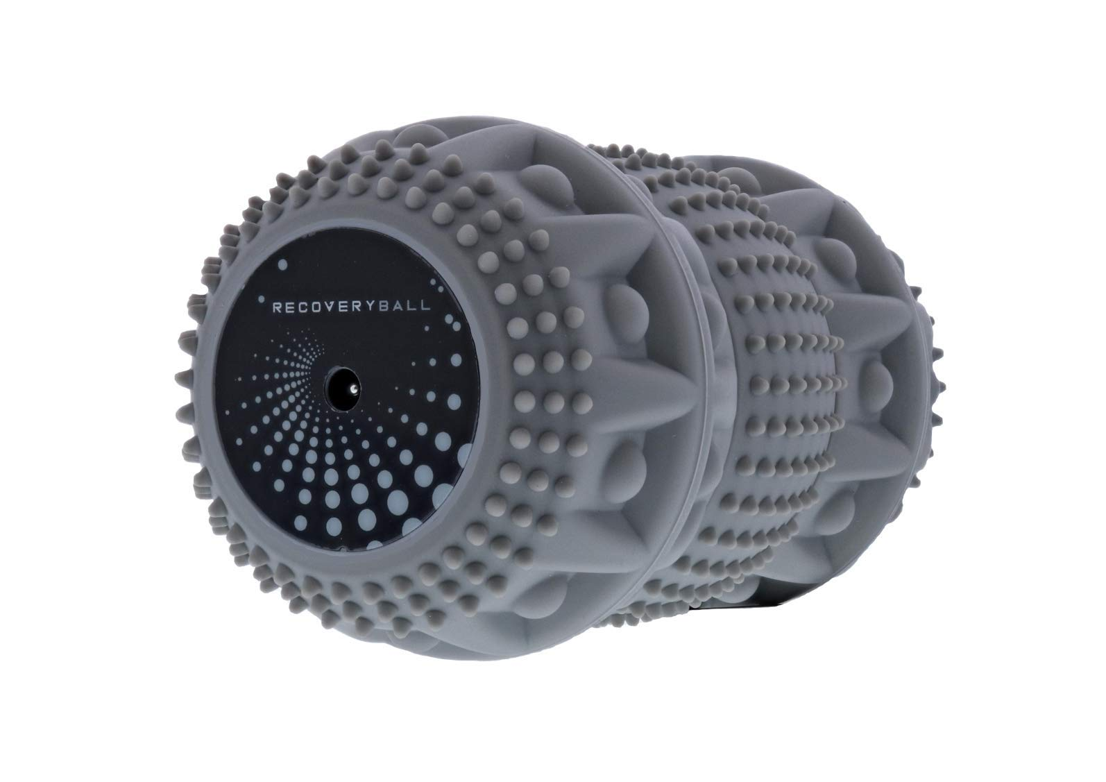 RecoveryBall Vibrating Peanut Massage Ball | 3 Speeds, Twists in 3 Ways | Perfect Therapy Ball Roller for Sore Muscles | Massage Balls Deep Tissue Massage to Relive Tension in Back, Shoulders, Legs