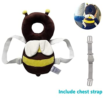 Baby kid head protection pillow Pad toddler head back care crawl Infant cushion Adjustable Infant Safety Pad