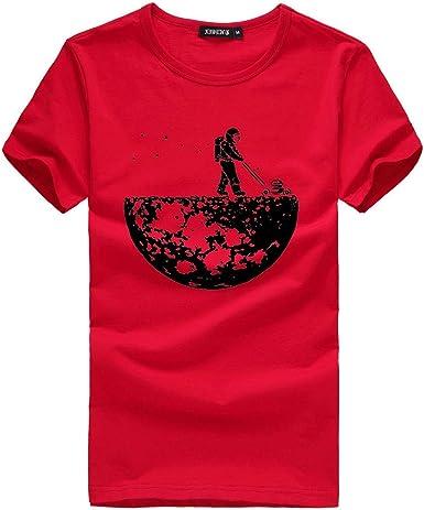 Fannyfuny Hombres Mujeres Pareja Camisetas Hombres Mujeres Pareja Modelos Patrón Imprimir O-Cuello de Manga Corta Barata Camiseta Tops Blusa de Amor ...