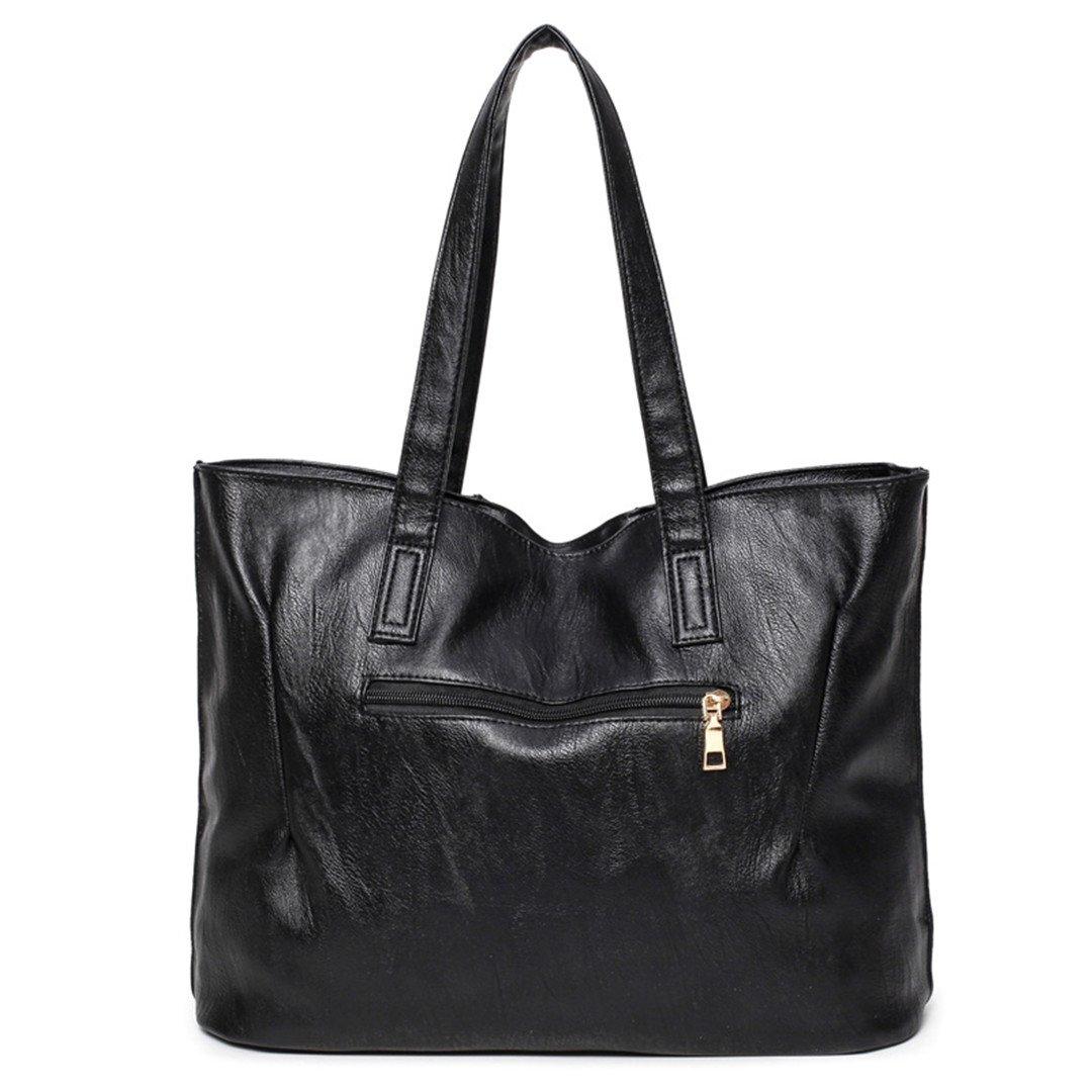 Amazon.com | Bolsa Feminina Grande Handbag Women Bag Brand ...