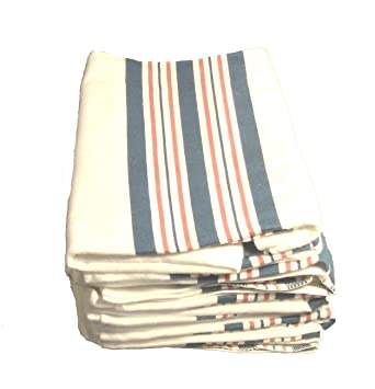 Kuddle-Up Flannel Baby Blankets - Receiving Blanket - P / B STRIPE - 6