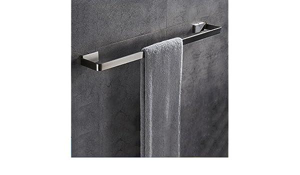 ZXLIFE@Barra de toalla de los muebles de cocina Soportes para toallas Carriles Estantes Estantes para cuarto de baño Ganchos para baño Accesorios de baño ...