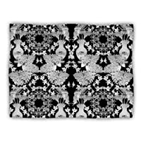 "Kess InHouse DLKG Design ""Versailles Black"" Dog Blanket, 60 by 50-Inch"