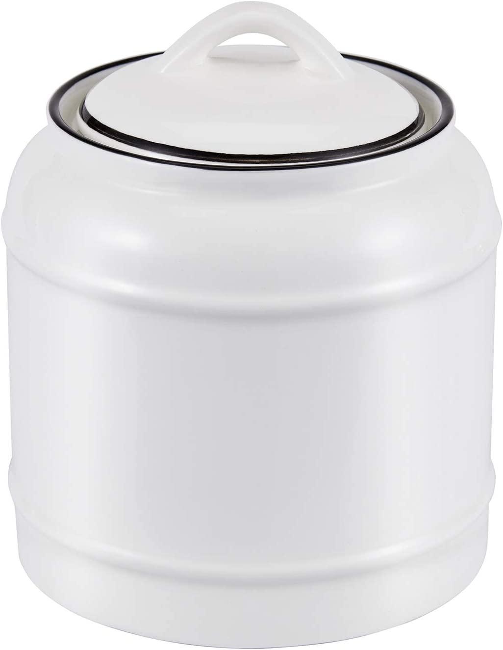 Toichi Airtight Ceramic Canisters 0.75 Liter(0.2 Gallon)|Coffee Canister|Fermentation Crock|Tea Canister|Kitchen Canisters|Food Jar for Pantry|Ceramic Food Storage Containers With Lids