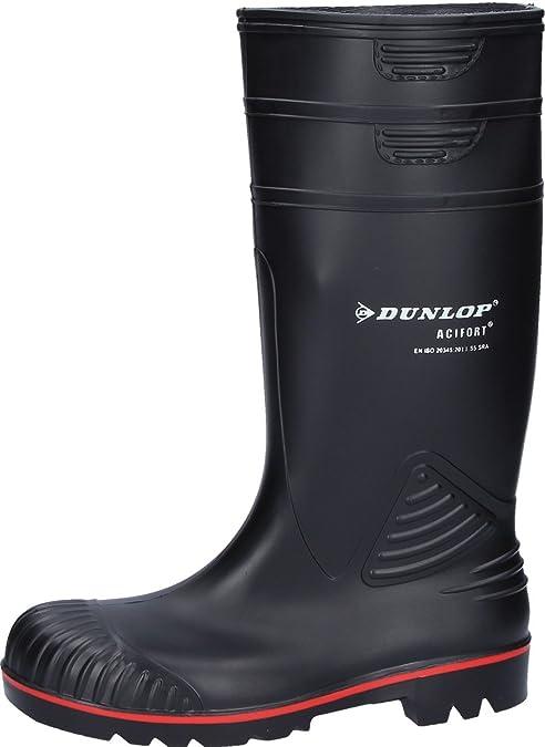 Dunlop Protective Footwear (DUO18) Dunlop Acifort Heavy Duty, Botas de Seguridad Unisex Adulto, Black, 46 EU: Amazon.es: Zapatos y complementos