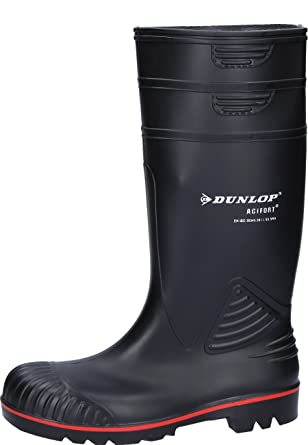Dunlop ACIFORT Gummistiefel grün S5 Gr 49//50