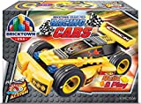 Bricktown USA - Grand Prix Racing Car - Yellow