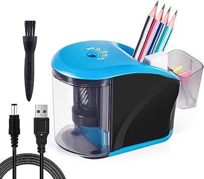 Afilador de Lápices Eléctrico Automático Home Office School Classroom