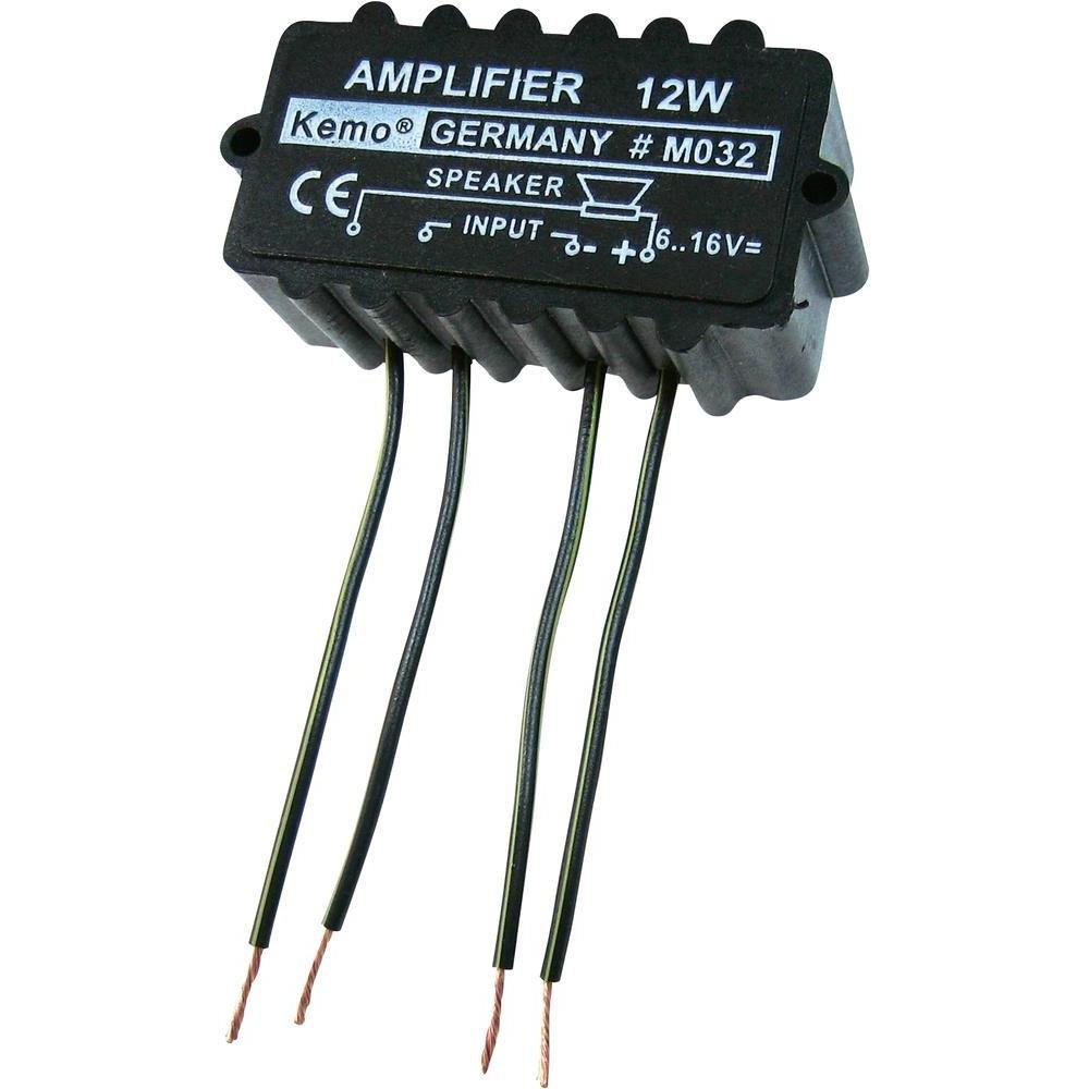 12w Universal Amp Amplifier Electronic Module 6 16v New Amazonco Audio Electronics