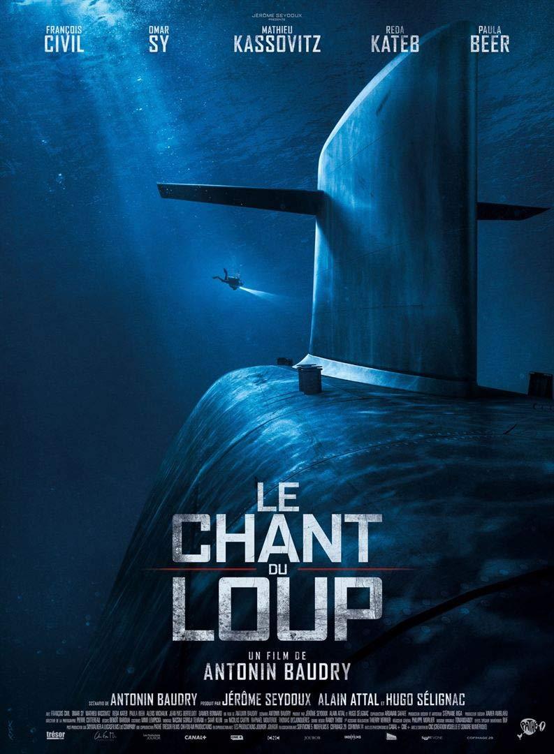 Affiche Cinéma Originale Grand Format - Le Chant du Loup (Format 120 x 160 cm roulée)