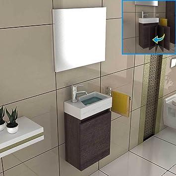 Gästebad möbel  Waschbeckenunterschrank Badezimmer Möbel-Set 40x22 cm in Alamo ...