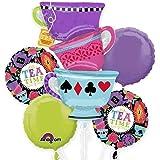 Tea Time Party Bouquet Of Balloons, kit, party, set, decorations, decor