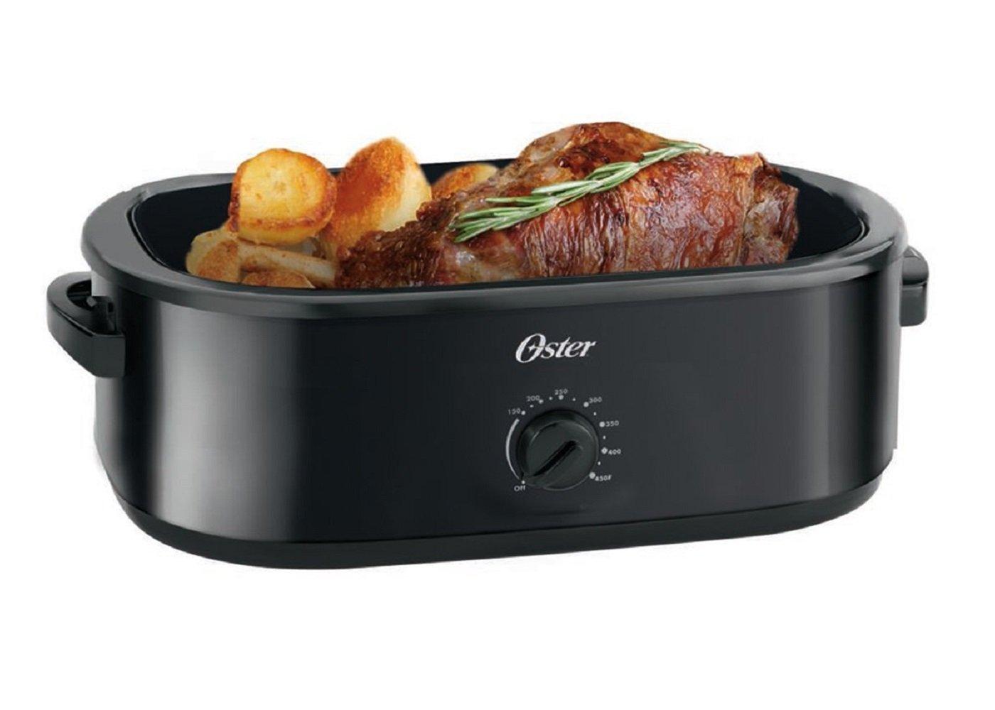 Oster CKSTRS16-BSB-D Roaster Oven, Black