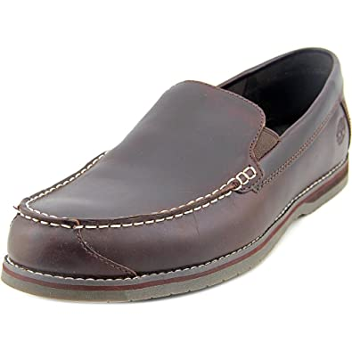 Timberland Bluffton Venetian Loafer Mens Brown Leather Slip On Shoes 7