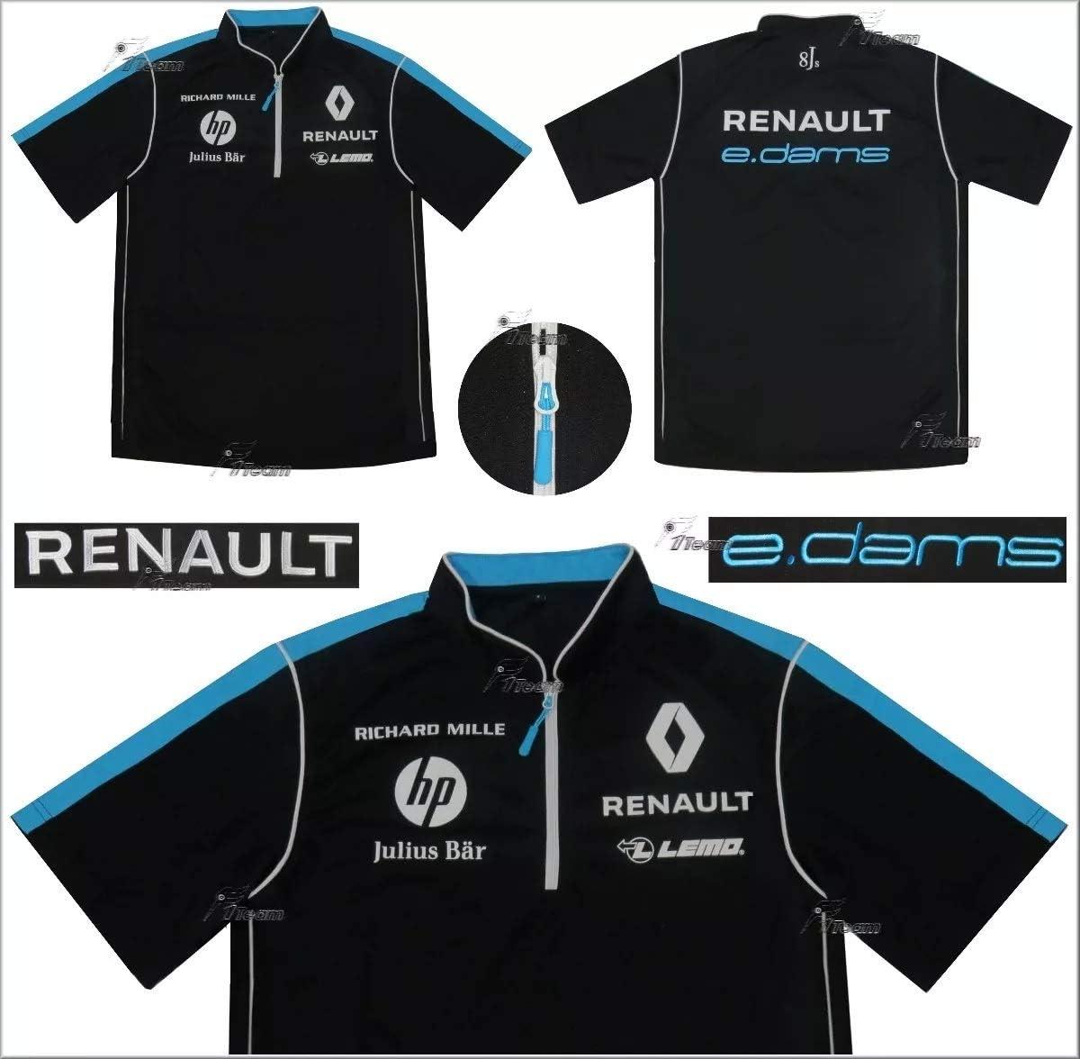 Renault e.dams Falda de Polo para Hombre Formula E Sponsor Buemi ...