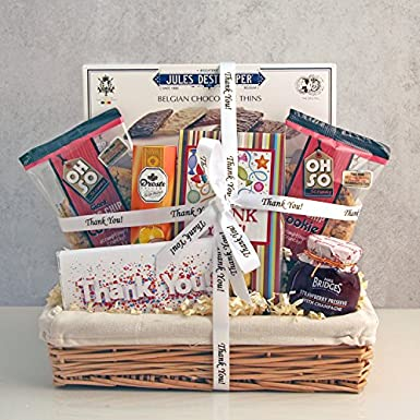 thank you gifts sgs 088 send the just to say thanks gift basket