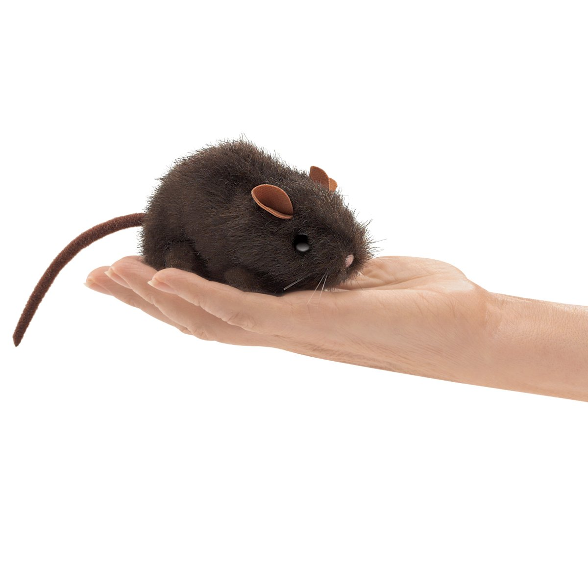 Folkmanis Mini Brown Mouse Finger Puppet Folkmanis Puppets 2768