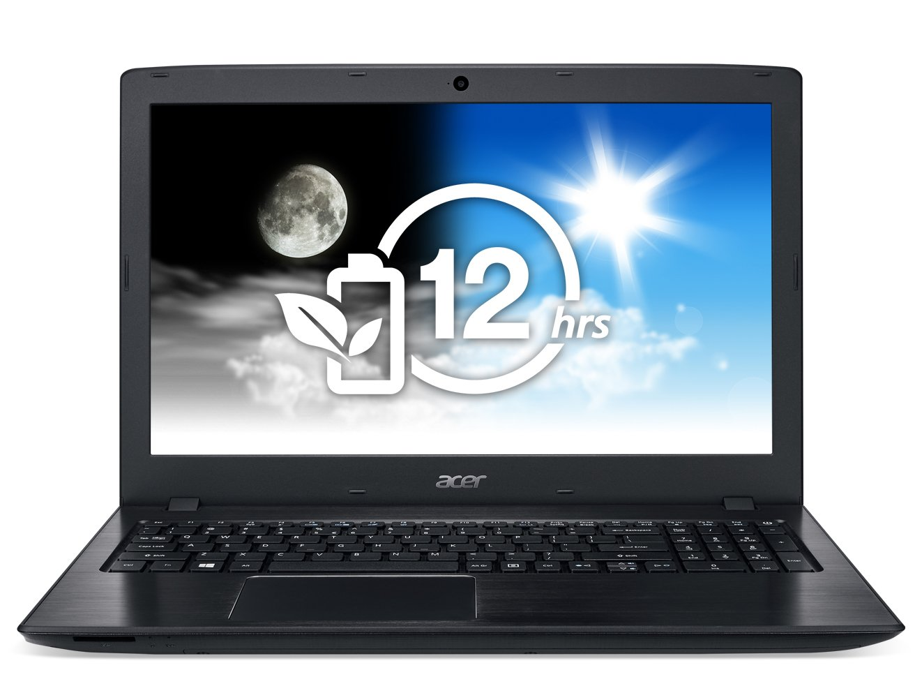 Acer Aspire E 15 E5-575G-57D4 15.6-Inches Full HD Notebook (7th Gen Intel Core i5-7200U, GeForce 940MX, 8GB DDR4 SDRAM, 256GB SSD, Windows 10 Home), Obsidian Black by Acer (Image #2)